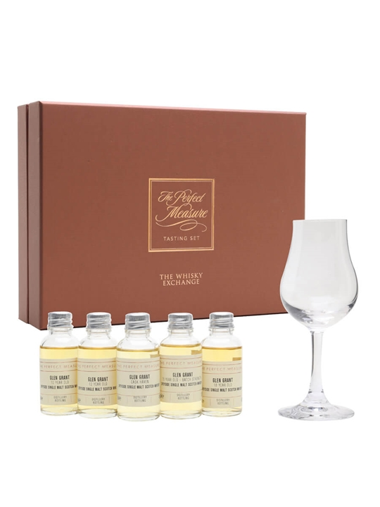 Glen Grant Tasting Set / 5x3cl Speyside Single Malt Scotch Whisky
