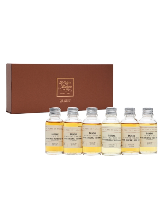 The Balvenie Deep Dive Masterclass Set / 6x3cl Speyside Whisky