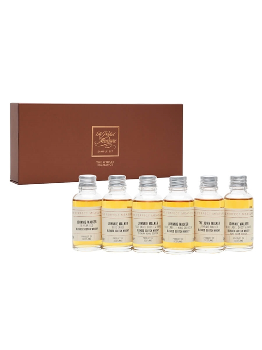 Johnnie Walker Luxury Tasting Set / 6x3cl Blended Scotch Whisky