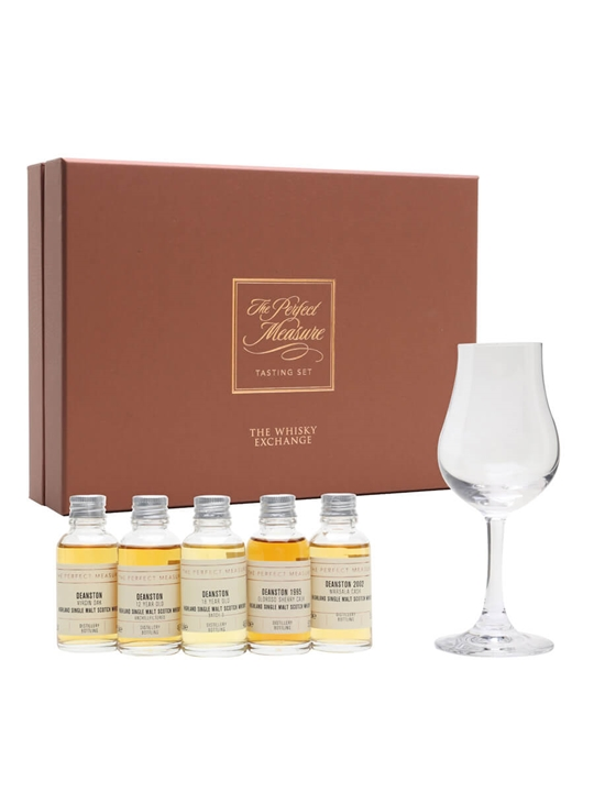 Deanston Tasting Set / 5x3cl Highland Single Malt Scotch Whisky
