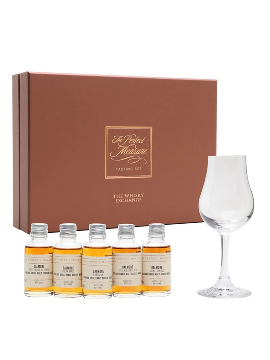 The Dalmore Cask Finishes Tasting Set / 5x3cl Highland Whisky