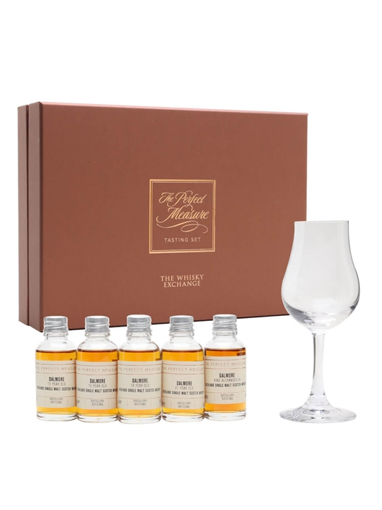 The Dalmore Aged Range Tasting Set / 5x3cl Highland Whisky