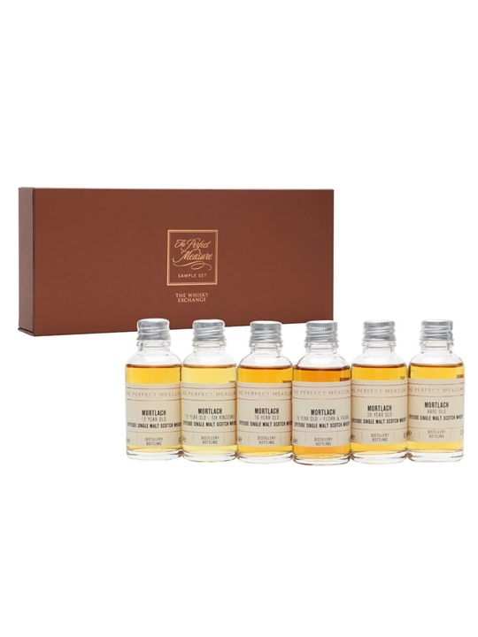 Mortlach: The Beast of Speyside Tasting Set / 6x3cl Speyside Whisky