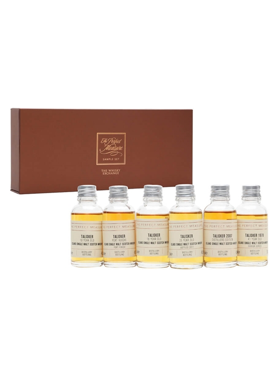 Talisker Tasting Set / 6x3cl Island Single Malt Scotch Whisky