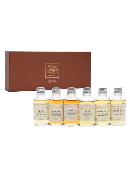 Discovering English Whisky Tasting Set / 6x3cl Single Whisky