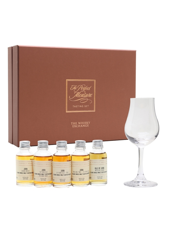 Say Hello To Jura Tasting Set / 5x3cl Island Single Malt Scotch Whisky