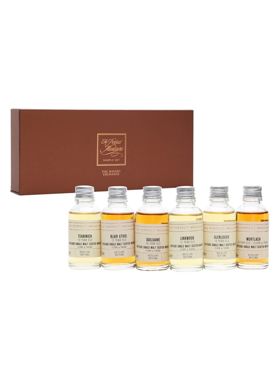 Flora & Fauna Highland and Speyside Tasting Set / 6x3cl Single Whisky