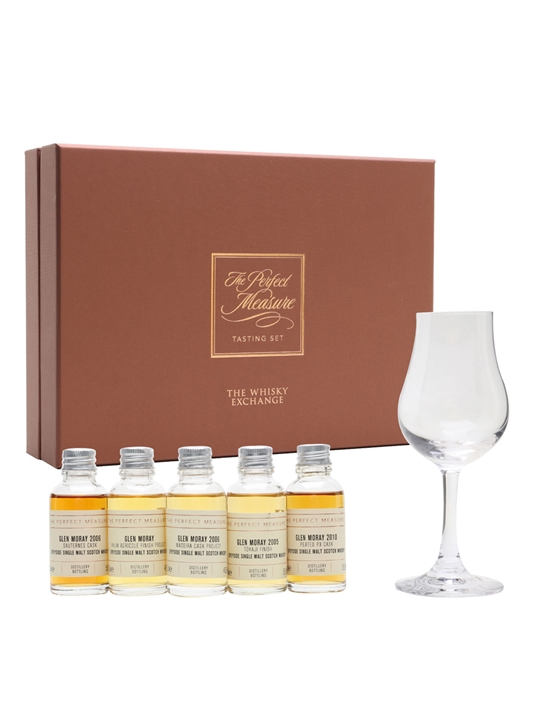 Glen Moray Cask Exploration Tasting Set / 5x3cl Speyside Whisky