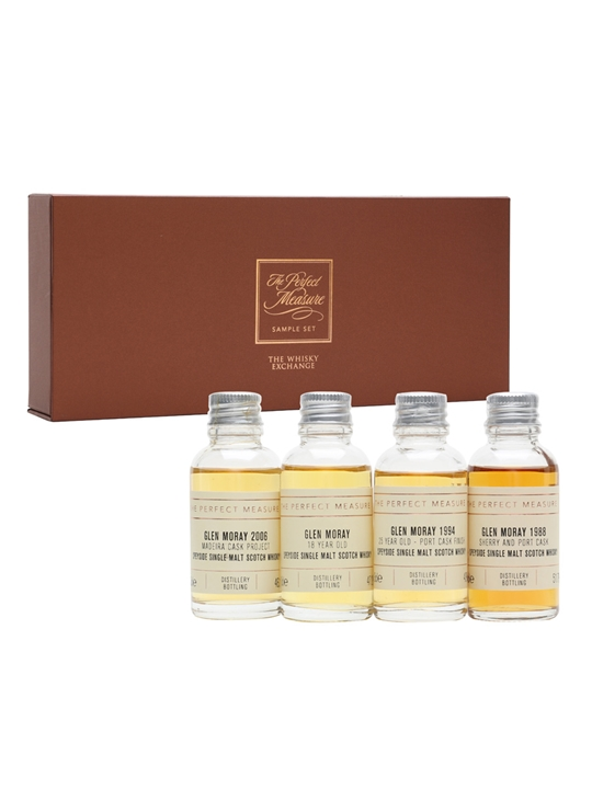 Glen Moray Tasting Set / 4x3cl Speyside Single Malt Scotch Whisky