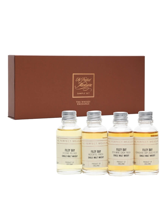 Spirit of Yorkshire Distillery Tasting Set / 4x3cl Single Whisky