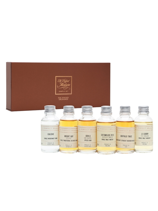 Sekforde Whisky and Rum Pairing Pack / 6x3cl Plus Six 20cl Mixers