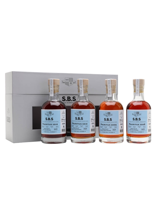 Mauritius SBS Experimental Cask Series / 4x20cl Single Modernist Rum