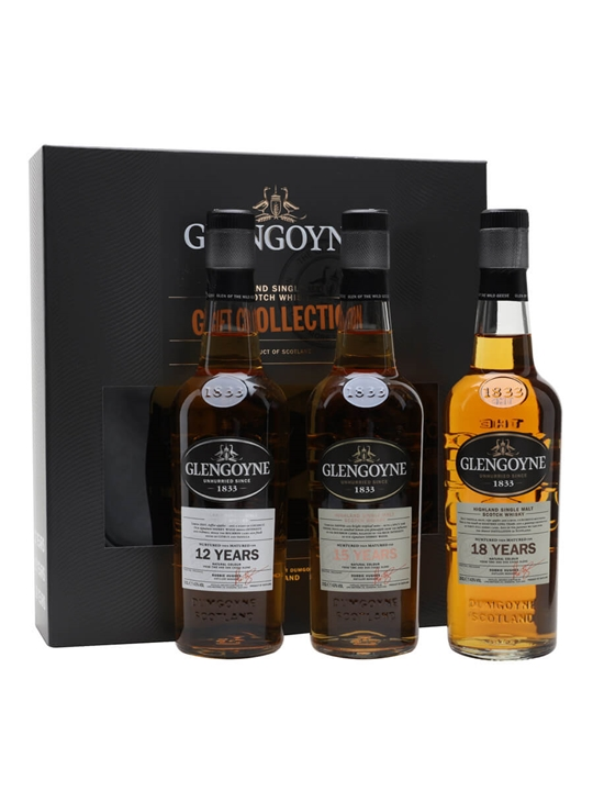 Glengoyne Triple Gift Pack / 12, 15, 18 Year Old / 3x20cl Highland Whisky