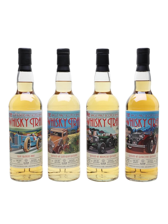 The Whisky Trail Cars Series Set / 4 Bottles