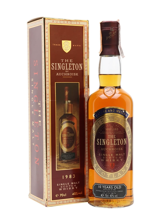 Singleton of Auchroisk 1983 / 10 Year Old Speyside Whisky