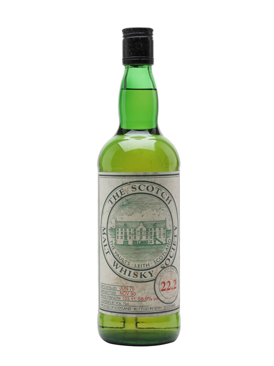 SMWS 22.2 / 1975 / Bot.1990 Lowland Single Malt Scotch Whisky