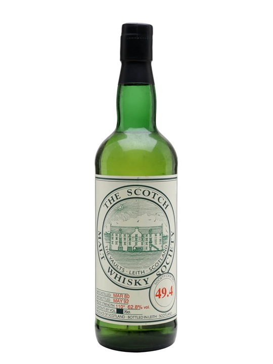 SMWS 49.4 (St Magdalene) / 1980 / 12 Year Old Lowland Whisky
