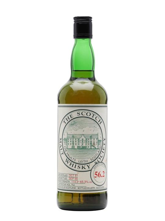 SMWS 56.2 / 1981 / Bot.1990 Speyside Single Malt Scotch Whisky