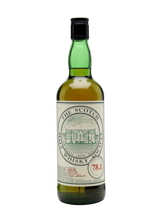 Smws 78.1 / 1966 / 23 Year Old Highland Single Malt Scotch Whisky
