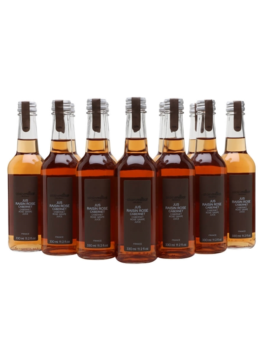 Alain Milliat Cabernet Rose Grape Juice / Case of 12 Bottles