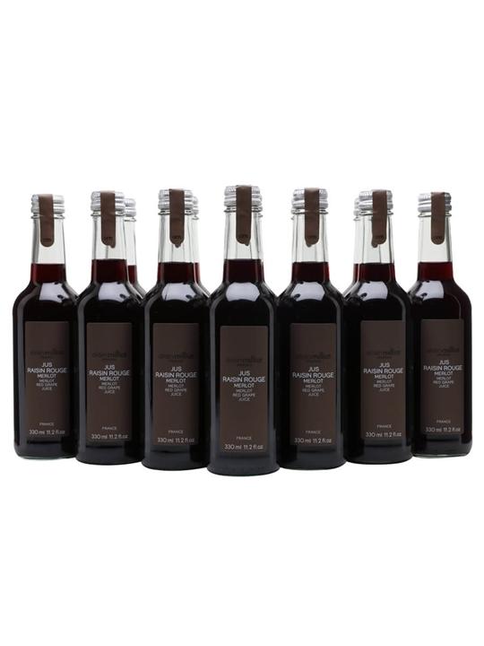 Alain Milliat Merlot Red Grape Juice / Case of 12 Bottles