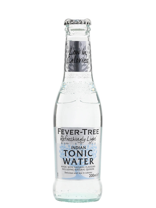 Fever Tree Naturally Light Tonic Water / Single Bottle