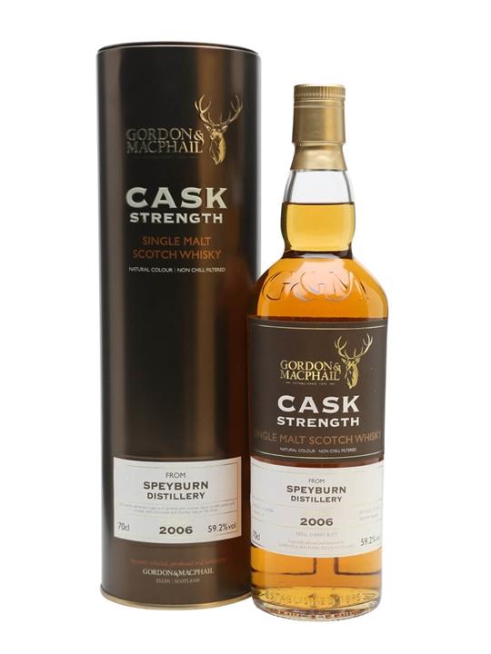 Speyburn 2006 / 10 Year Old / Cask Strength / G&m Speyside Whisky