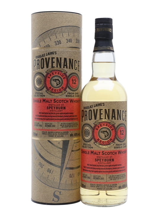Speyburn 2006 / 12 Year Old / Provenance Speyside Whisky