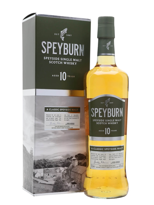 Speyburn 10 Year Old Speyside Single Malt Scotch Whisky