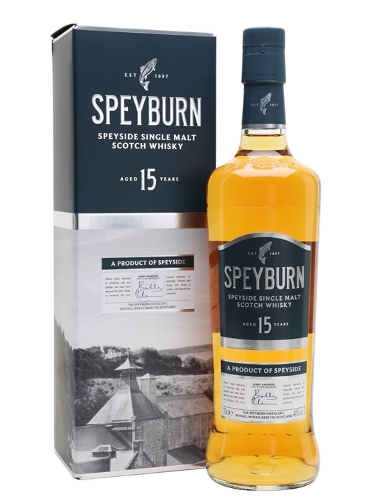 Speyburn 15 Year Old Speyside Single Malt Scotch Whisky