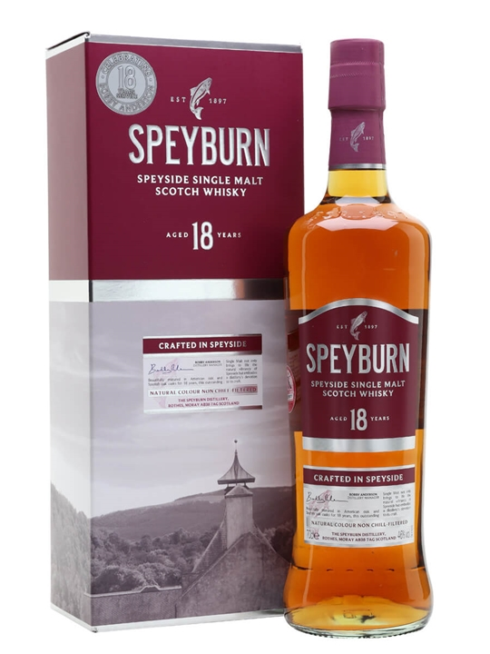 Speyburn 18 Year Old Anniversary Edition Speyside Whisky