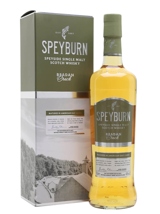 Speyburn Bradan Orach Speyside Single Malt Scotch Whisky