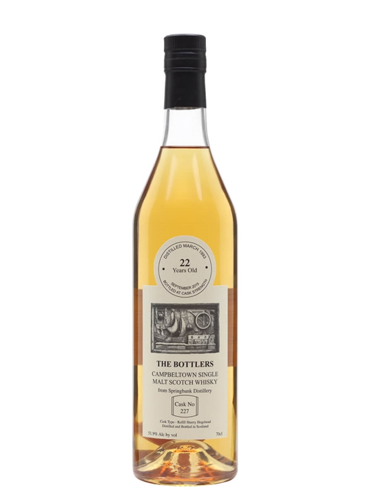 Springbank 1993 / 22 Year Old / The Bottlers Campbeltown Whisky