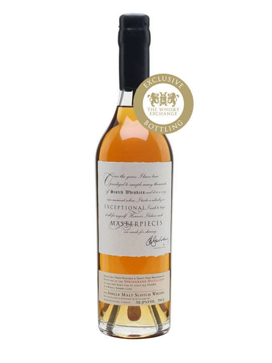 Springbank 1993 / Sherry Cask / Masterpieces Campbeltown Whisky