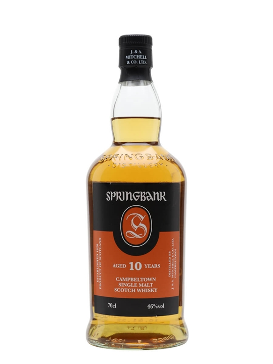 Springbank 10 Year Old Campbeltown Single Malt Scotch Whisky