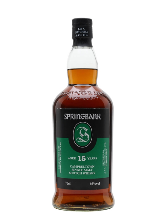 Springbank 15 Year Old Campbeltown Single Malt Scotch Whisky