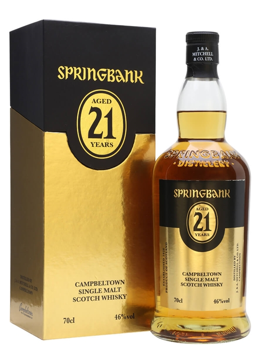 Springbank 21 Year Old / 2018 Release Campbeltown Whisky