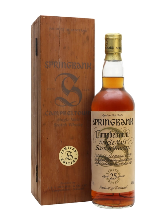 Springbank 25 Year Old / Sherry Cask / Millennium Series Campbeltown Whisky