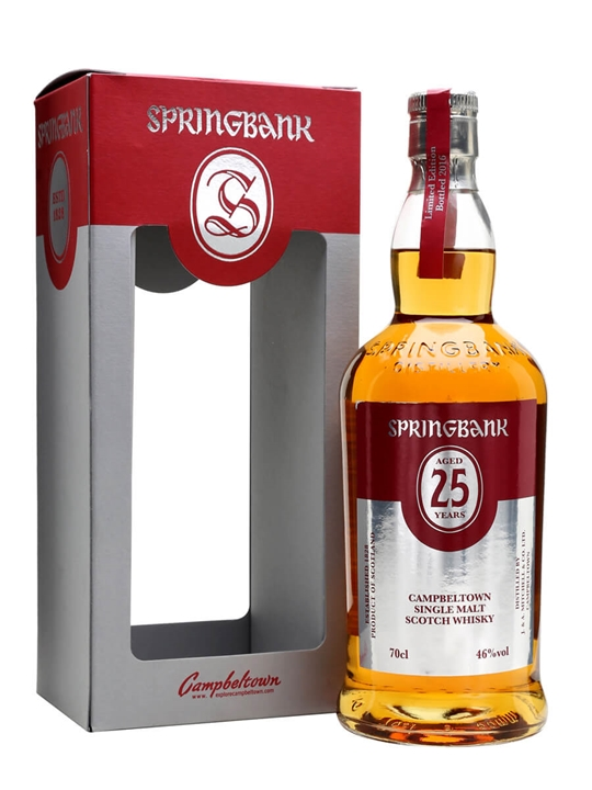 Springbank 25 Year Old / Bot.2016 Campbeltown Whisky