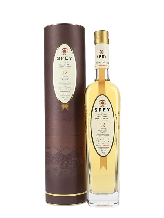Spey 12 Year Old Speyside Single Malt Scotch Whisky