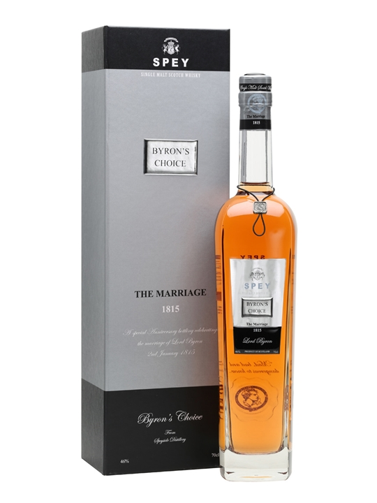SPEY Byron's Choice / The Marriage Speyside Single Malt Scotch Whisky