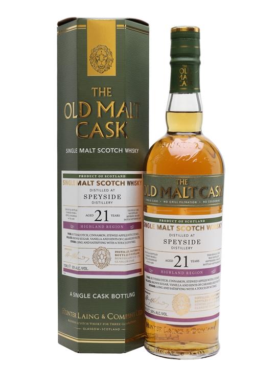 Speyside 1996 / 21 Year Old / Old Malt Cask Speyside Whisky