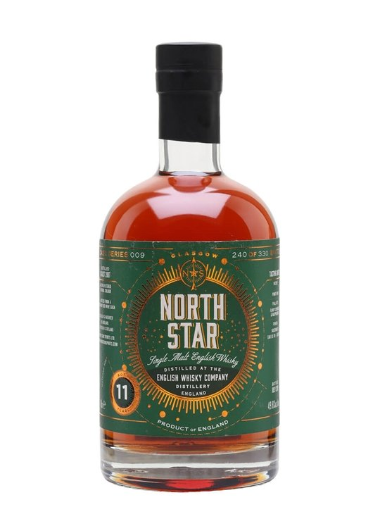 English Whisky 2007 / 11 Year Old / Red Wine Cask / North Star Single Whisky