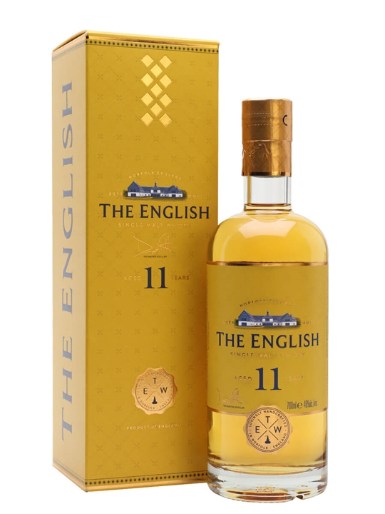English Whisky Co. 11 Year Old English Single Malt Whisky