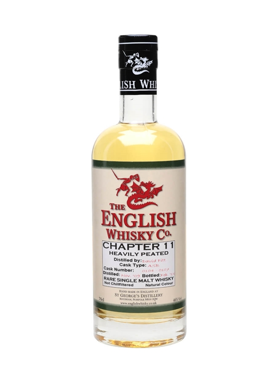 English Whisky Co. Chapter 11 English Single Malt Whisky