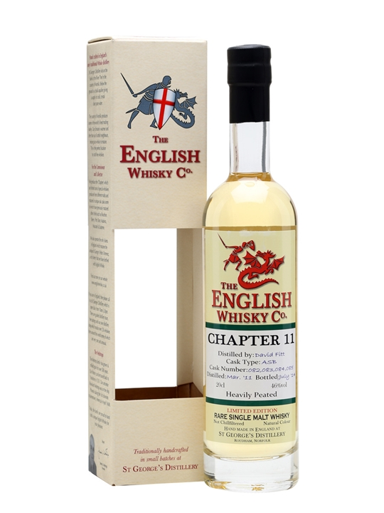 English Whisky Co. Chapter 11  Small Bottle English Whisky