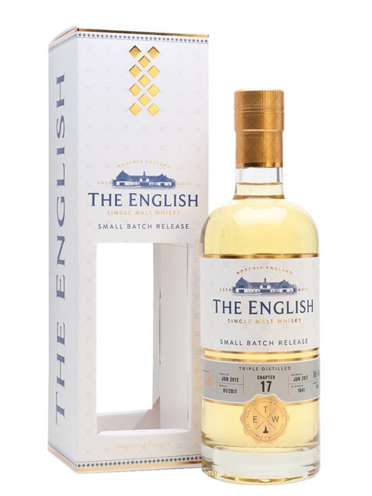 English Whisky Co. 2012 / Bot.2017 / Chapter 17 English Whisky