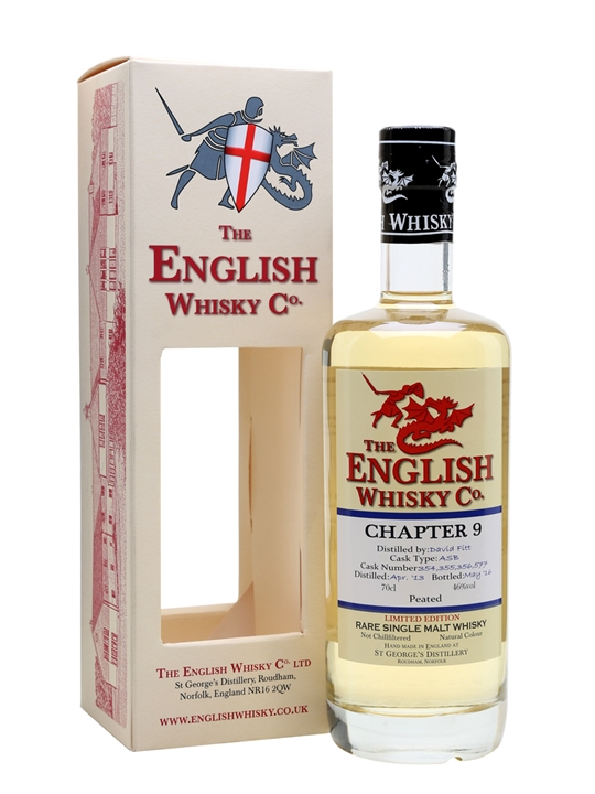 English Whisky Co. / Chapter 9 2013 / Peated English Whisky