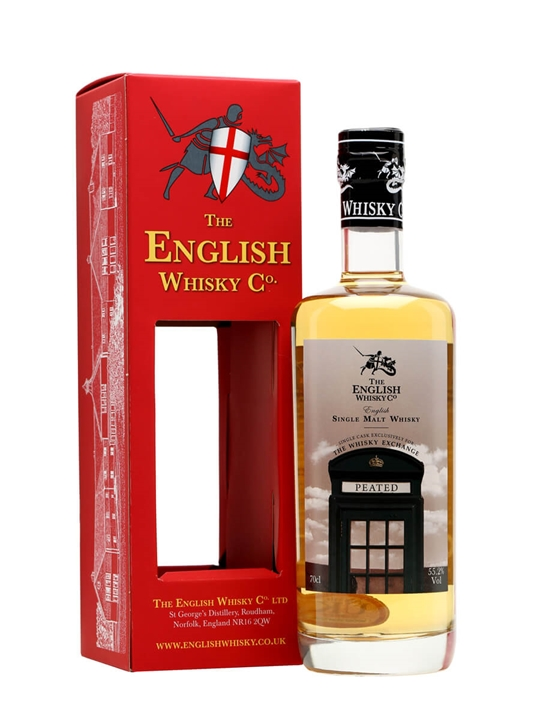English Whisky Co. Peated / TWE Exclusive English Single Malt Whisky