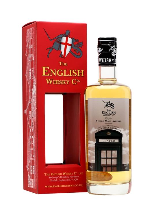 English Whisky Co. Peated / TWE Exclusive English Single Malt Whisky